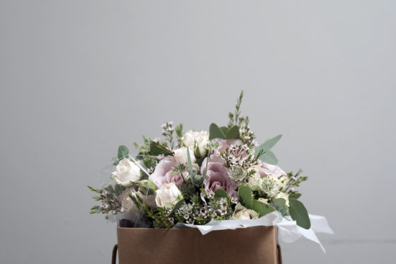 Wedding flowers and bouquet